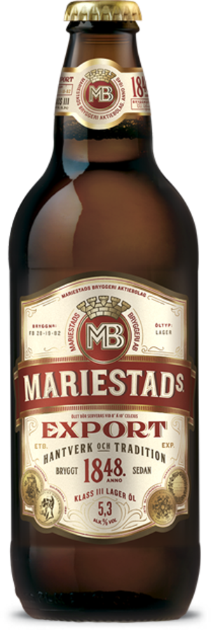 Medium beer export